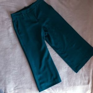 Zara Cropped Wide Legged Trousers